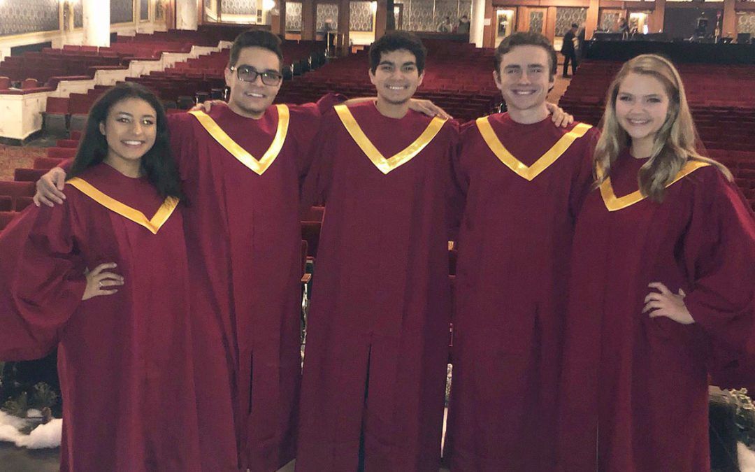 "Chamber Singers to Perform on CBS6's ""Melodies of Christmas"""
