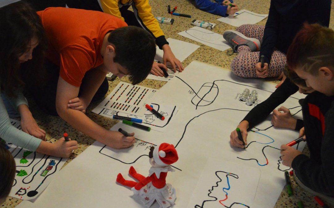 Coding Club Creates Winter Wonderland