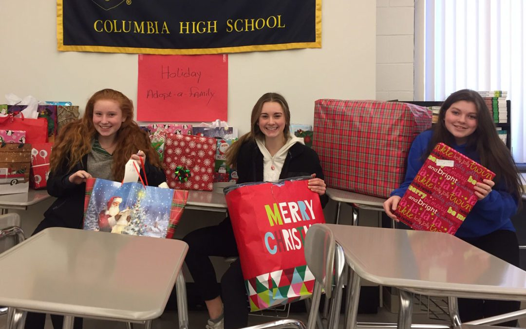 Columbia Adopt-a-Family Program Gives Gifts to 52 Local Families