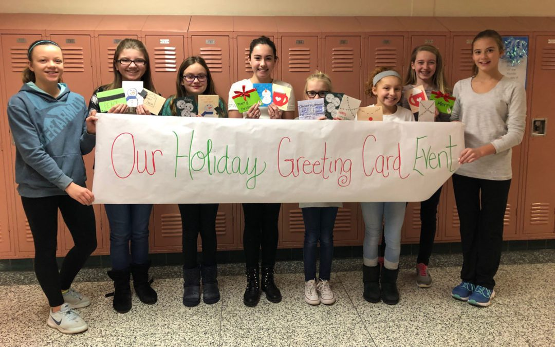 Students Send Season's Greetings