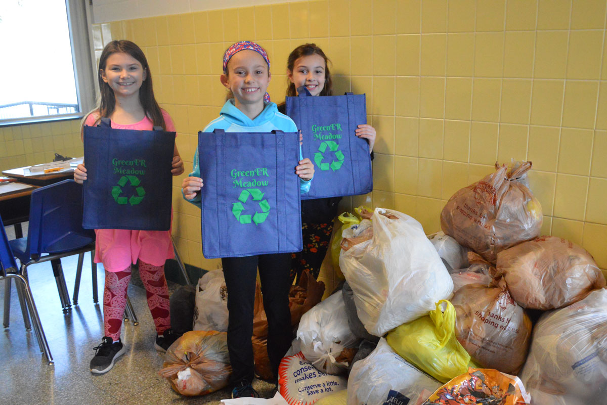 Green Meadow Recycling Club students