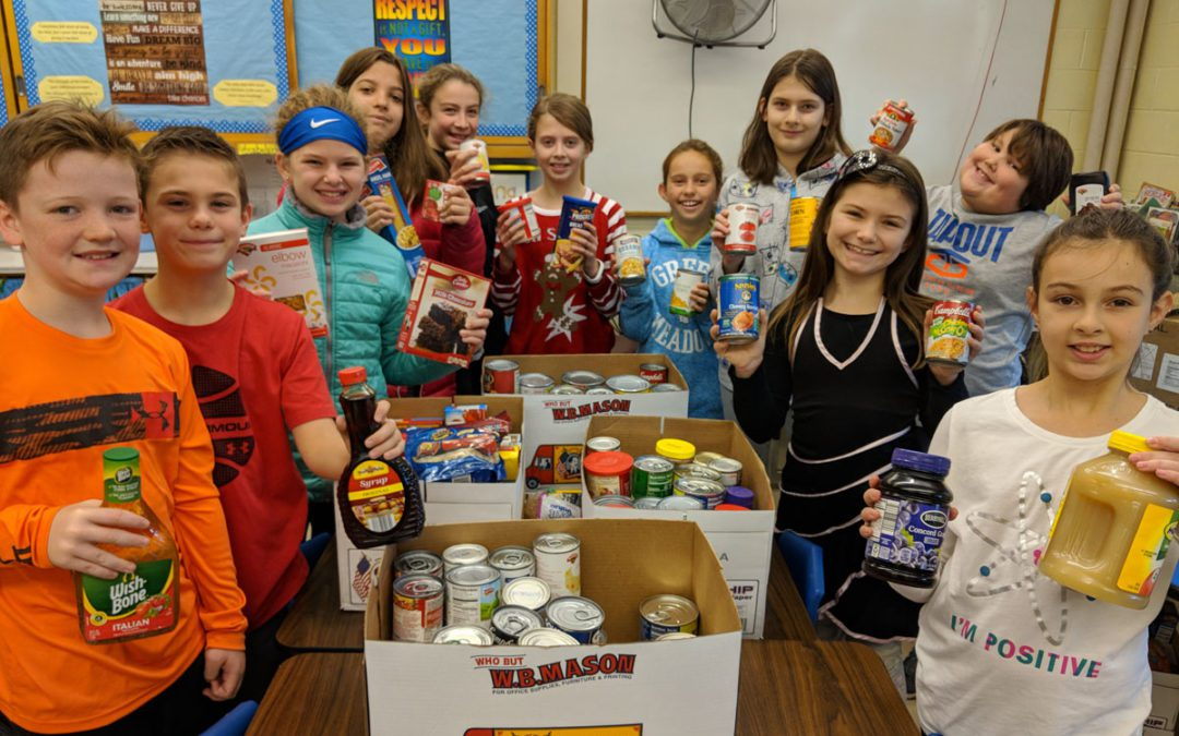 Green Meadow Student Council Donates to CoNSERNS-U Food Pantry