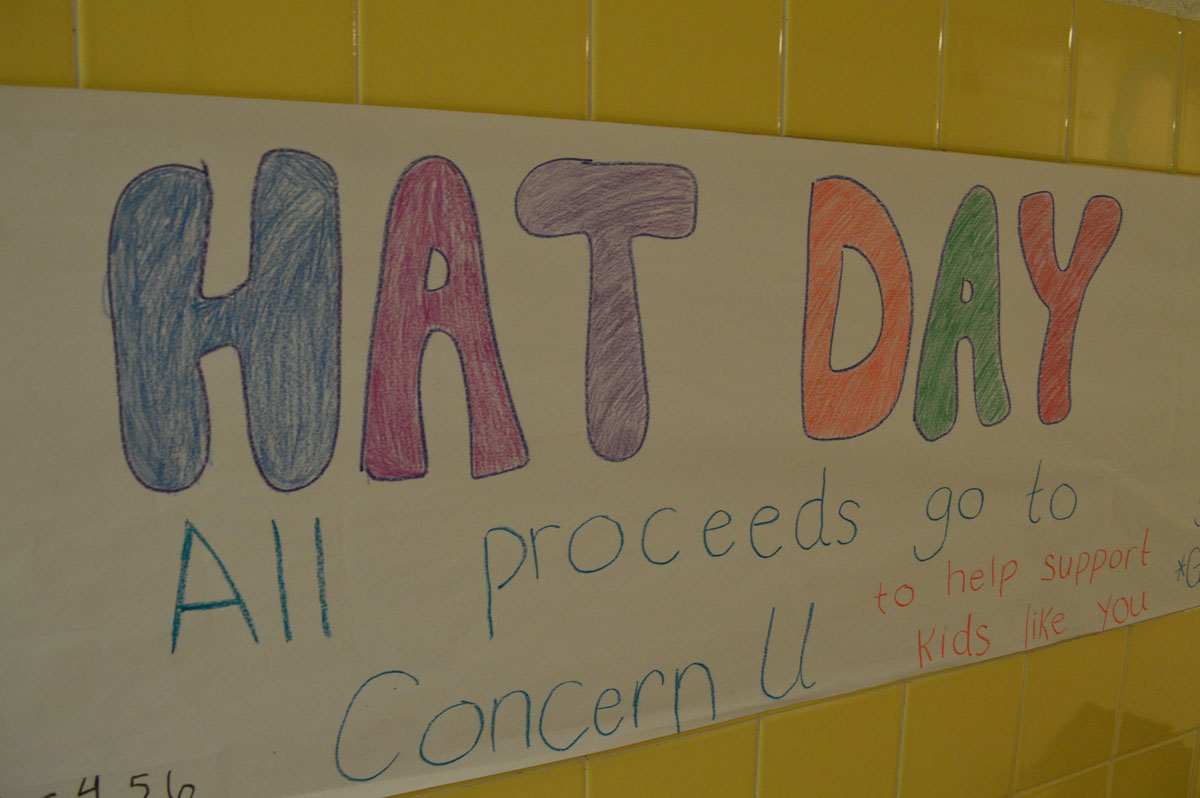 Hat Day sign