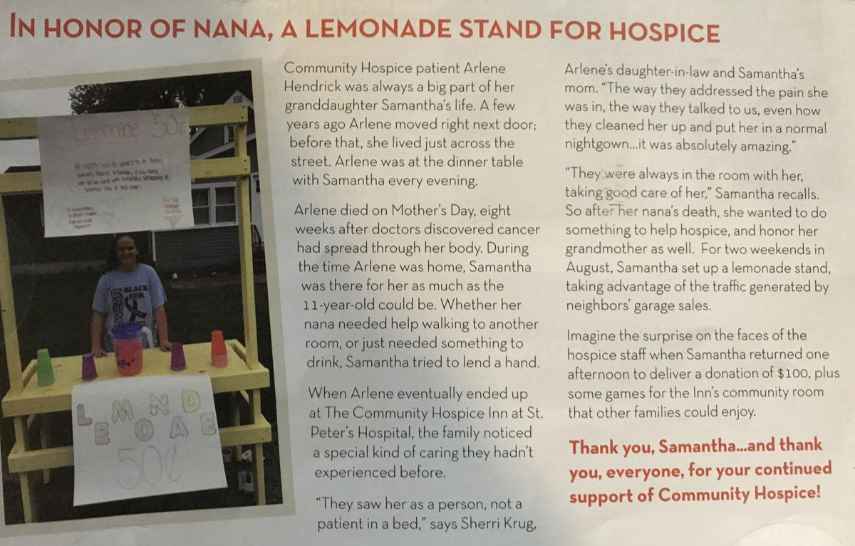 Hospice Inn publication