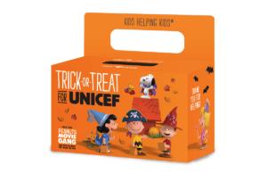 UNICEF donation box