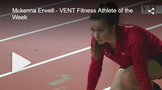 McKenna Erwell Named VENT Fitness Athlete of the Week