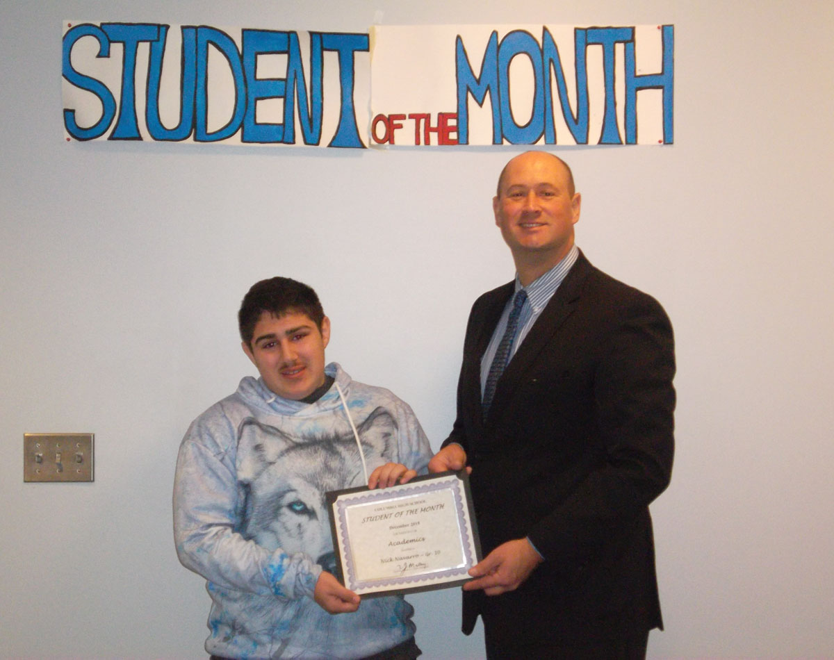 Nick Navarro - Student of the Month