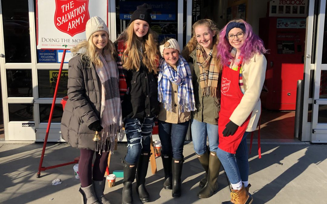 Student Council Collects Money for Salvation Army