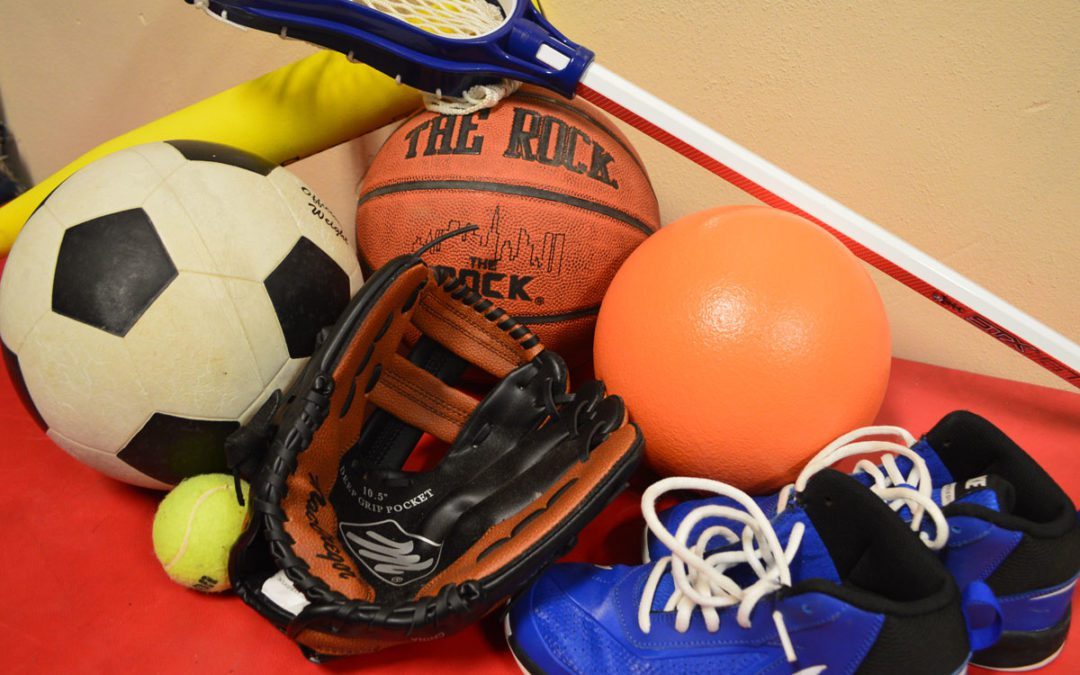 Columbia Class of 2023 Collecting Used Sports Equipment for Winterfest Sale