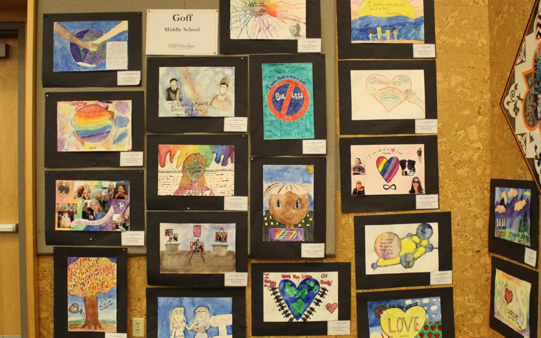 Student Artwork Honors Martin Luther King Jr.