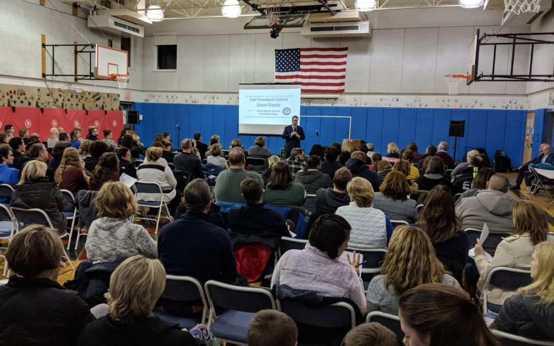 District Hosts First Two Community Meetings on Proposed Changes to School Boundaries for Bell Top, Genet and Red Mill