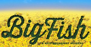 Big Fish musical artwork