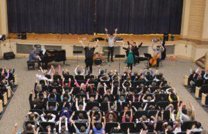 Bridge Arts Ensemble performs in Genet Auditorium