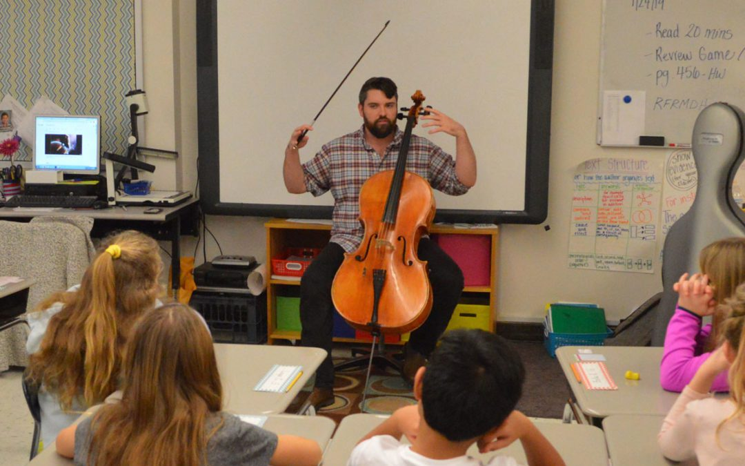Musicians Perform Free Concerts and Workshops for Elementary Schools