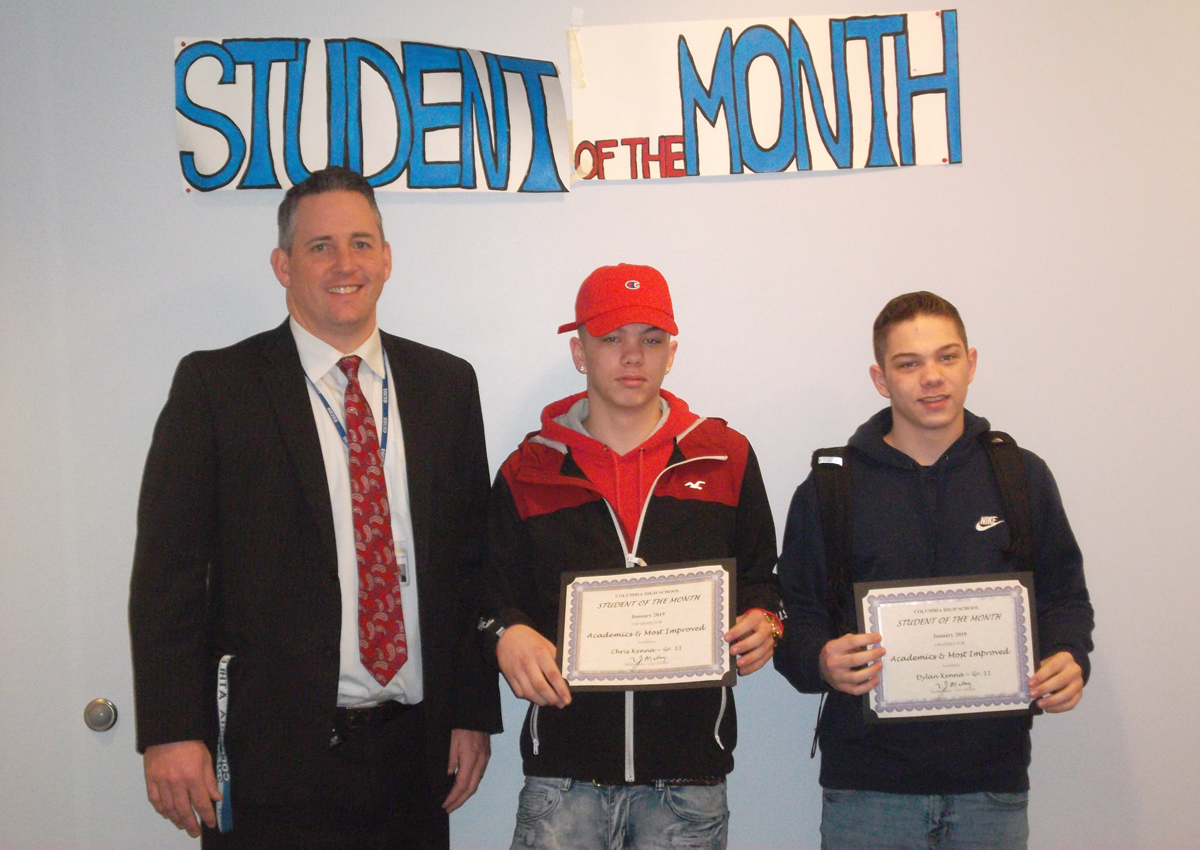 Dylan and Chris Kenna - Students of the Month