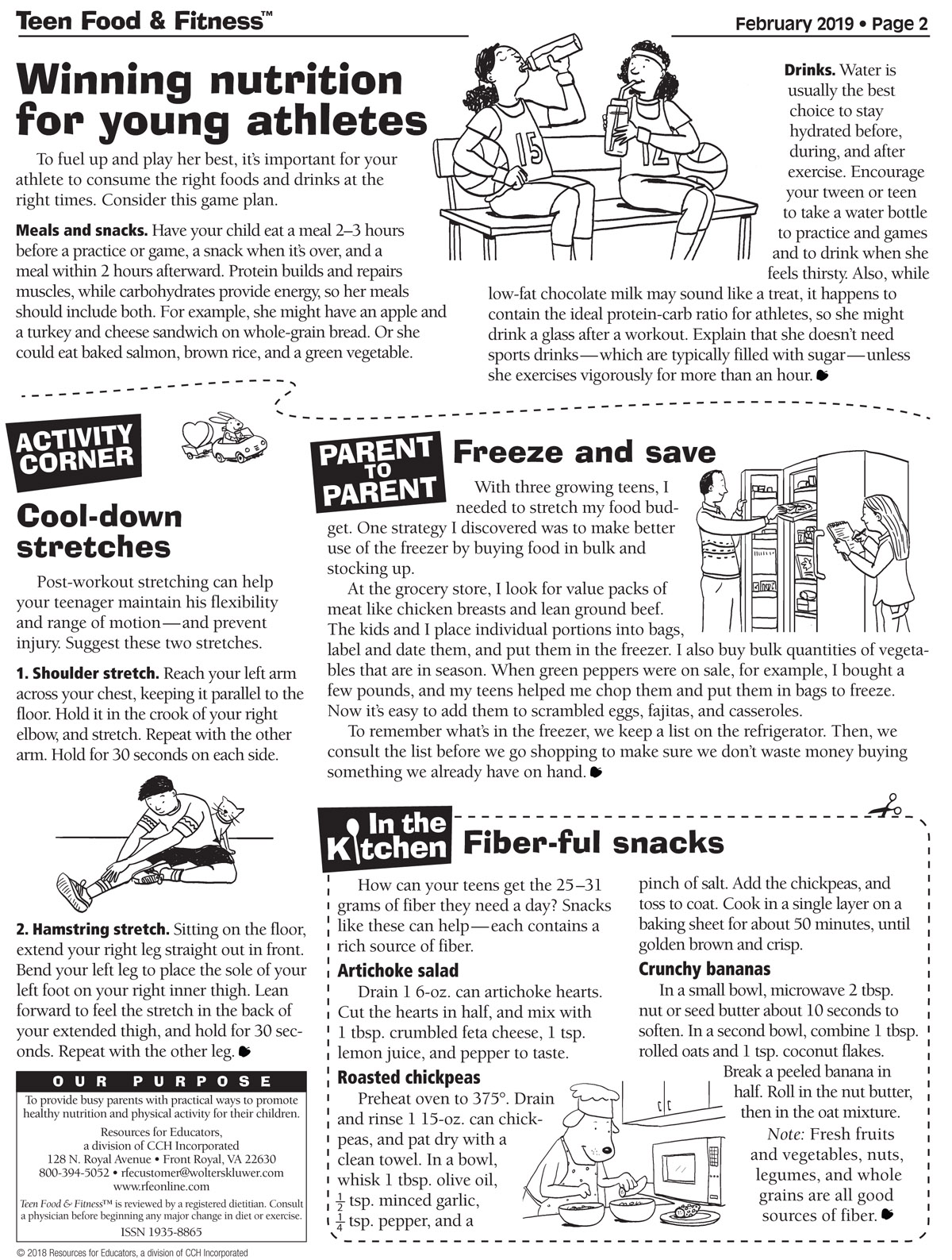 Food & Fitness February 2019 issue page 2