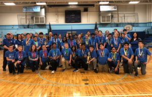 Goff Science Olympiad at regional competition