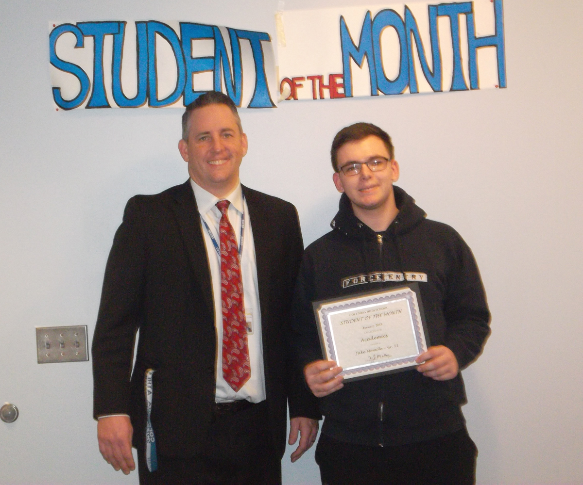 Jake Memole - Student of the Month