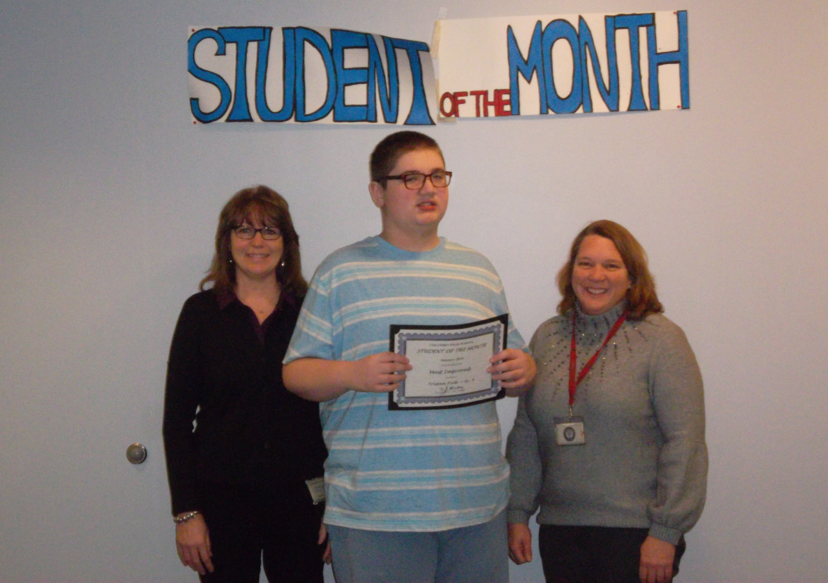 Tristan Fink - Student of the Month