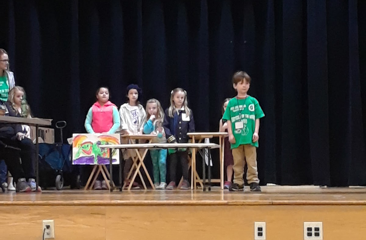 DPS students at Odyssey of the Mind competition