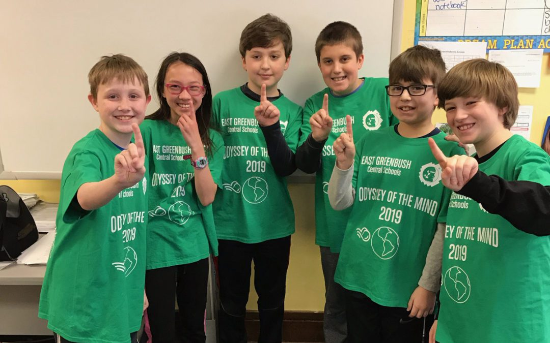 Ten Teams Compete at Odyssey of the Mind Regional Tournament