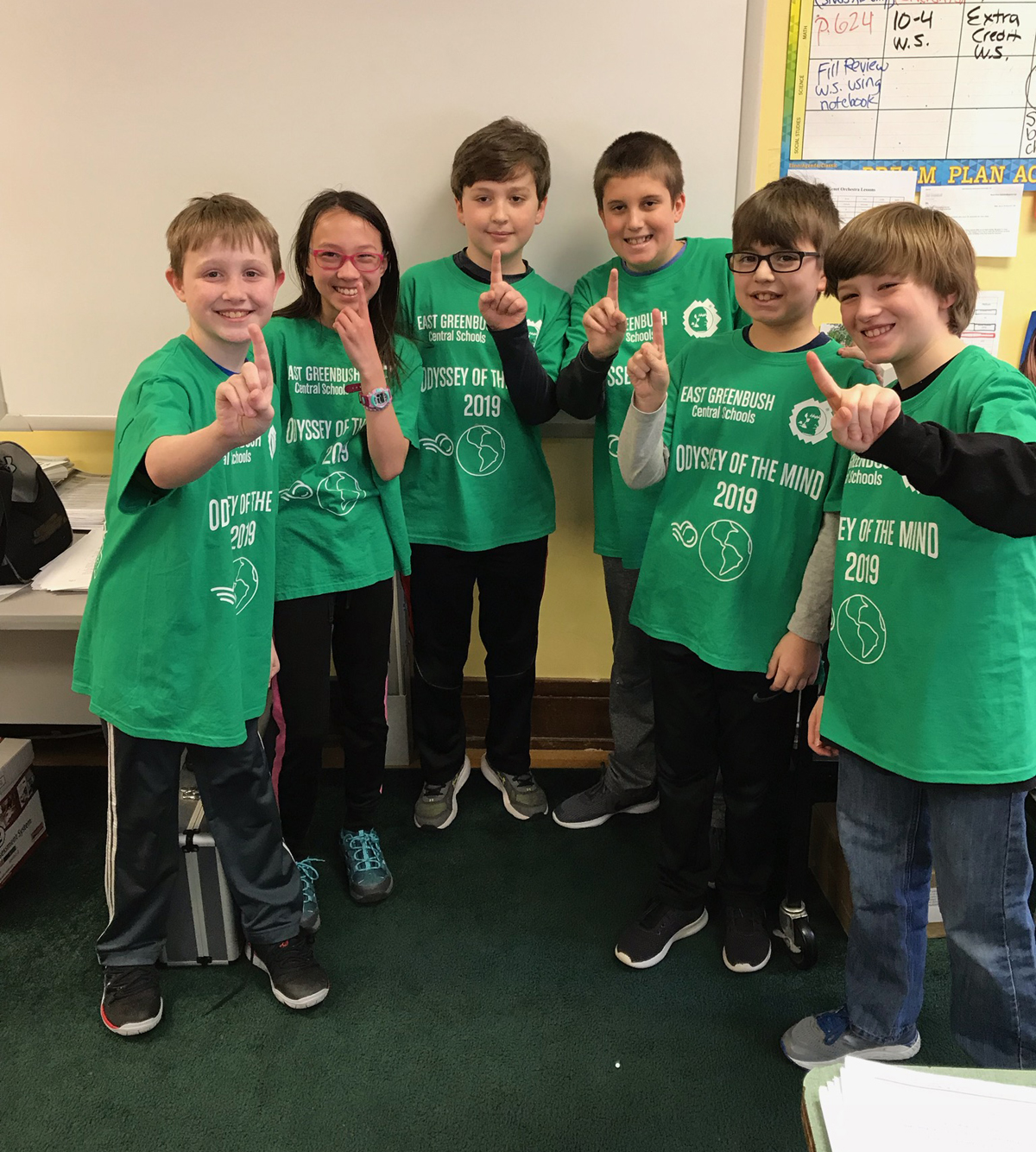 Genet students at Odyssey of the Mind competition