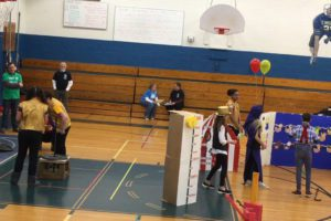 Goff students competing at Odyssey of the Mind Regional Tournament