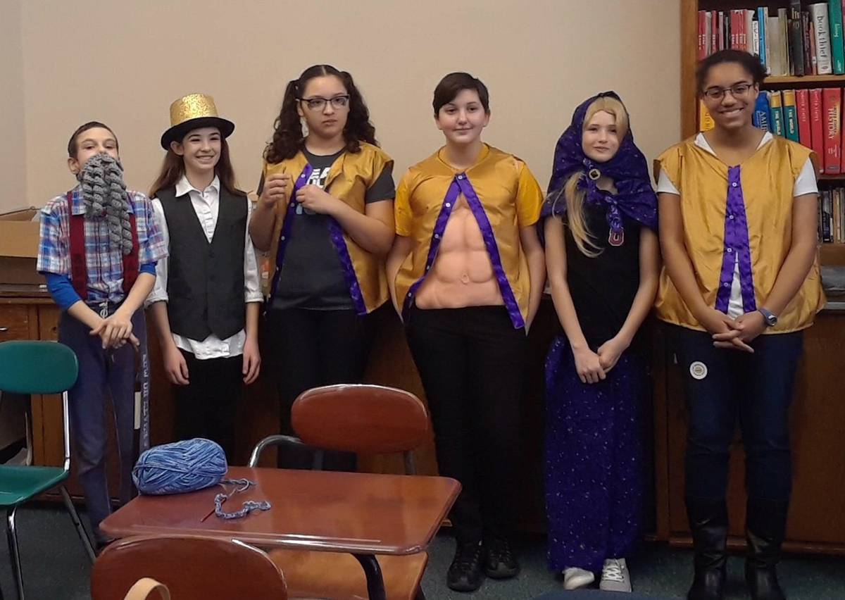 Goff students at Odyssey of the Mind competition