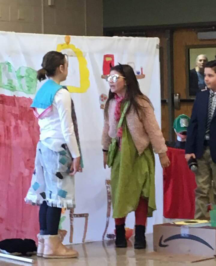 Green Meadow students at Odyssey of the Mind competition