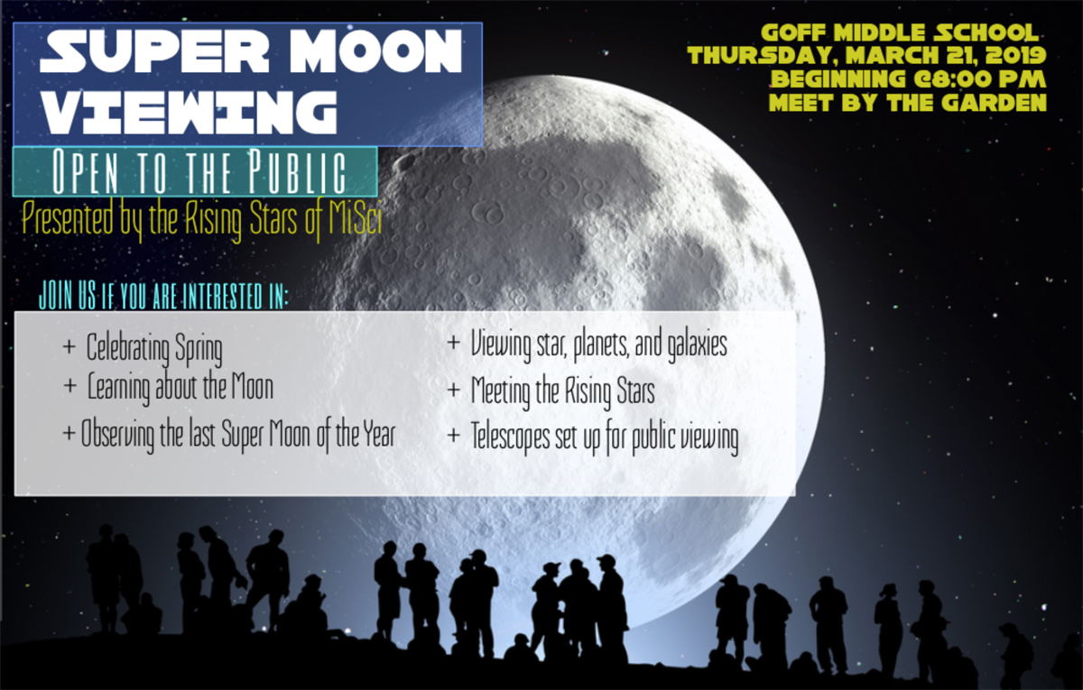 Star Party flyer