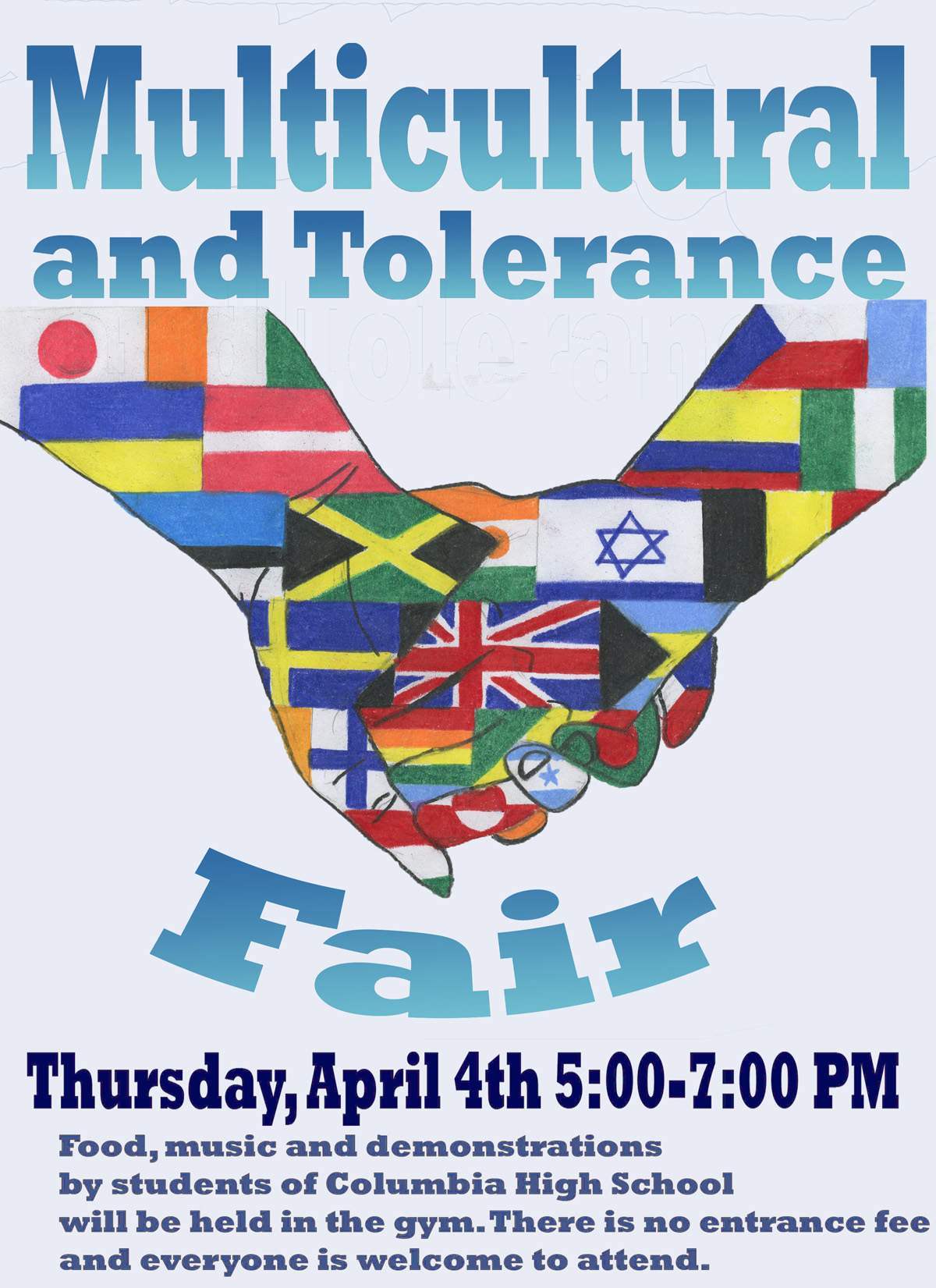 Multicultural Fair flyer
