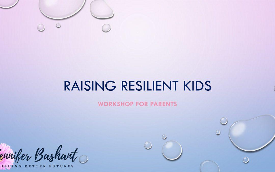 Parent Workshop Focuses on Building Resiliency in Kids