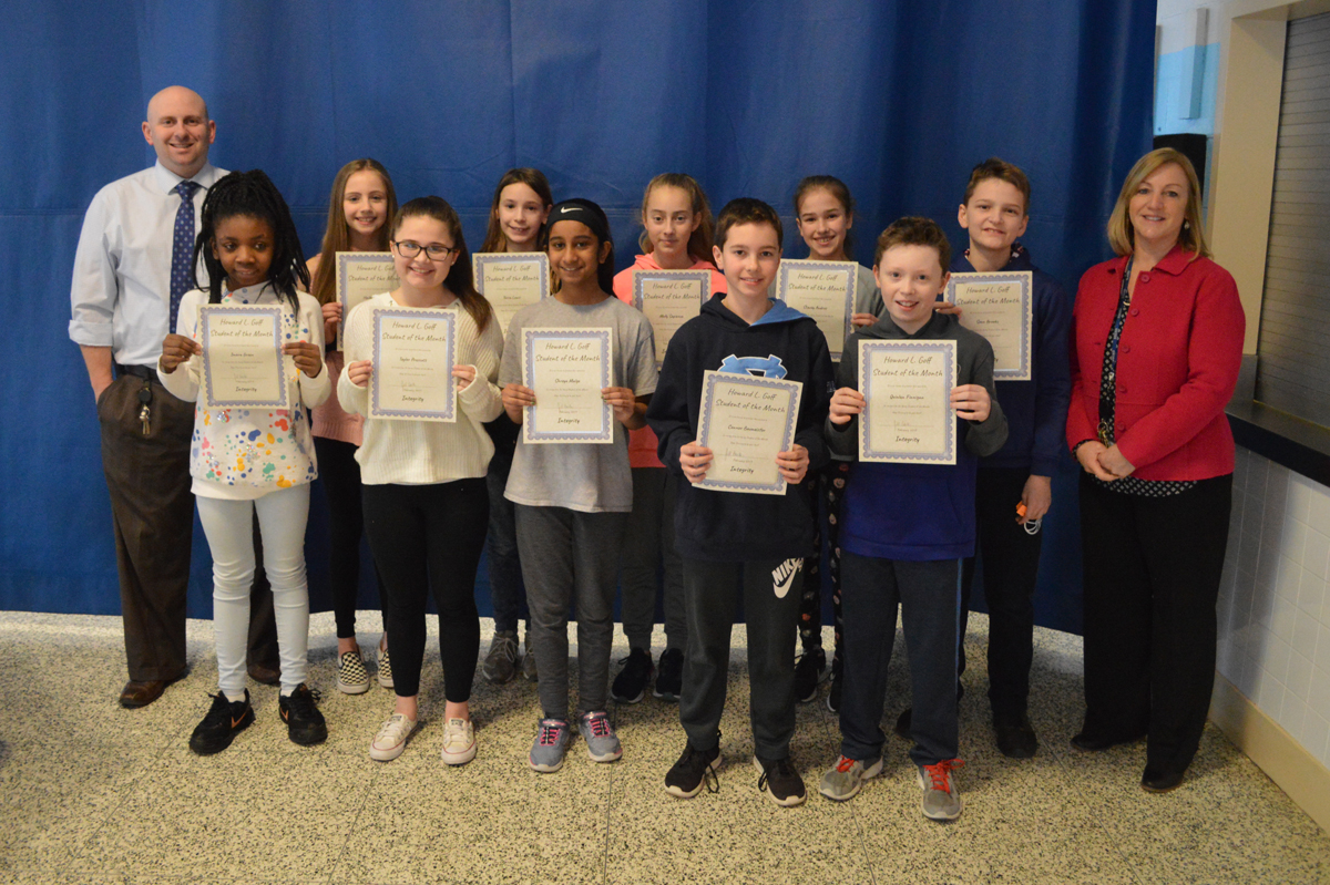 6th Grade Goff Students of the Month