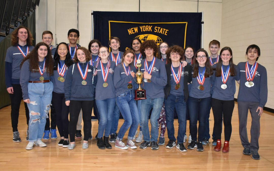 Columbia Wins NYS Science Olympiad Championship