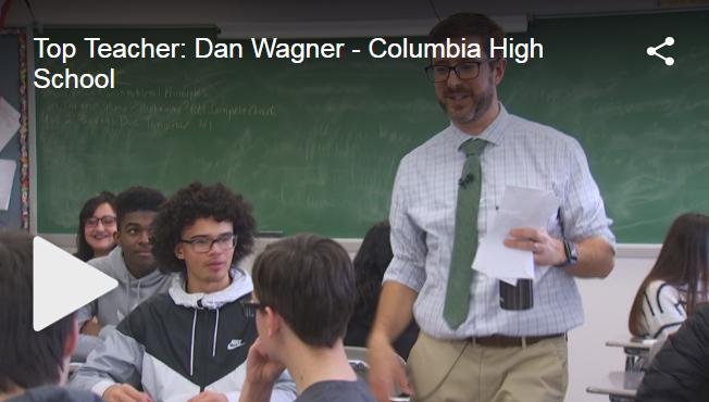 Dan Wagner WNYT Top Teacher screenshot