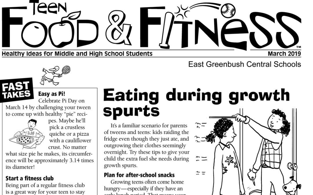 Food & Fitness – March 2019