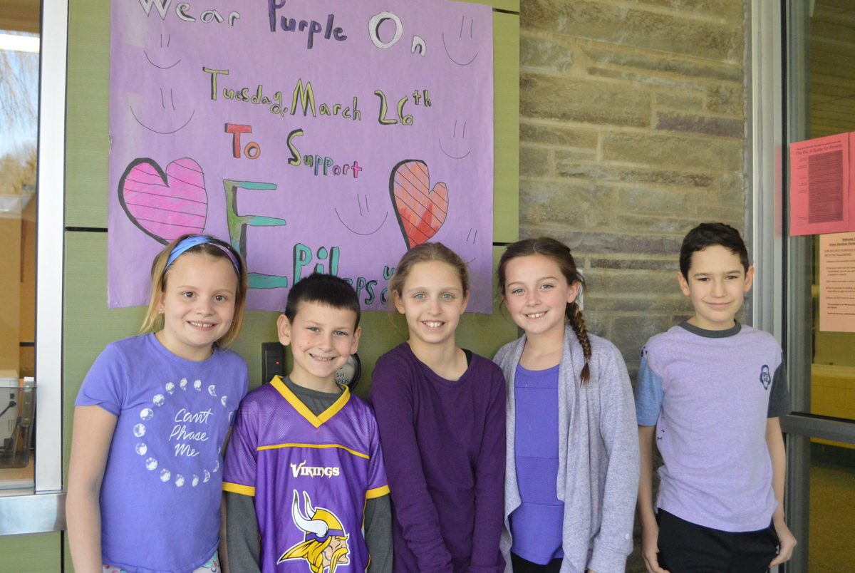 Green Meadow students at Epilepsy Awareness Day