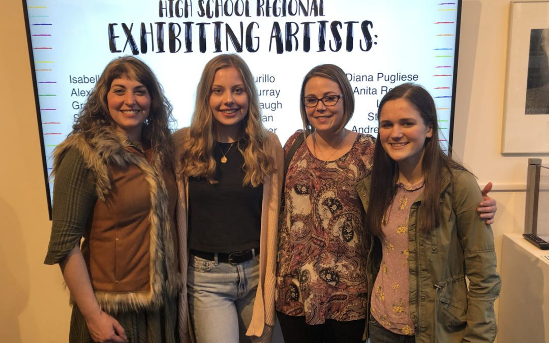 Student Artwork Accepted to High School Regional Exhibition