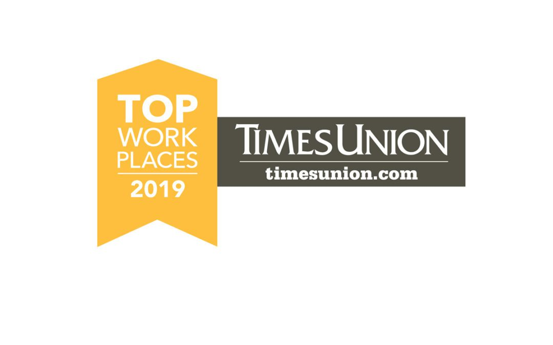 District Named a Times Union Top Workplace for 2nd Year in a Row