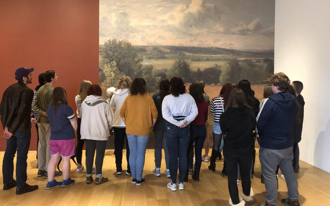 Columbia Art Club Visits The Clark