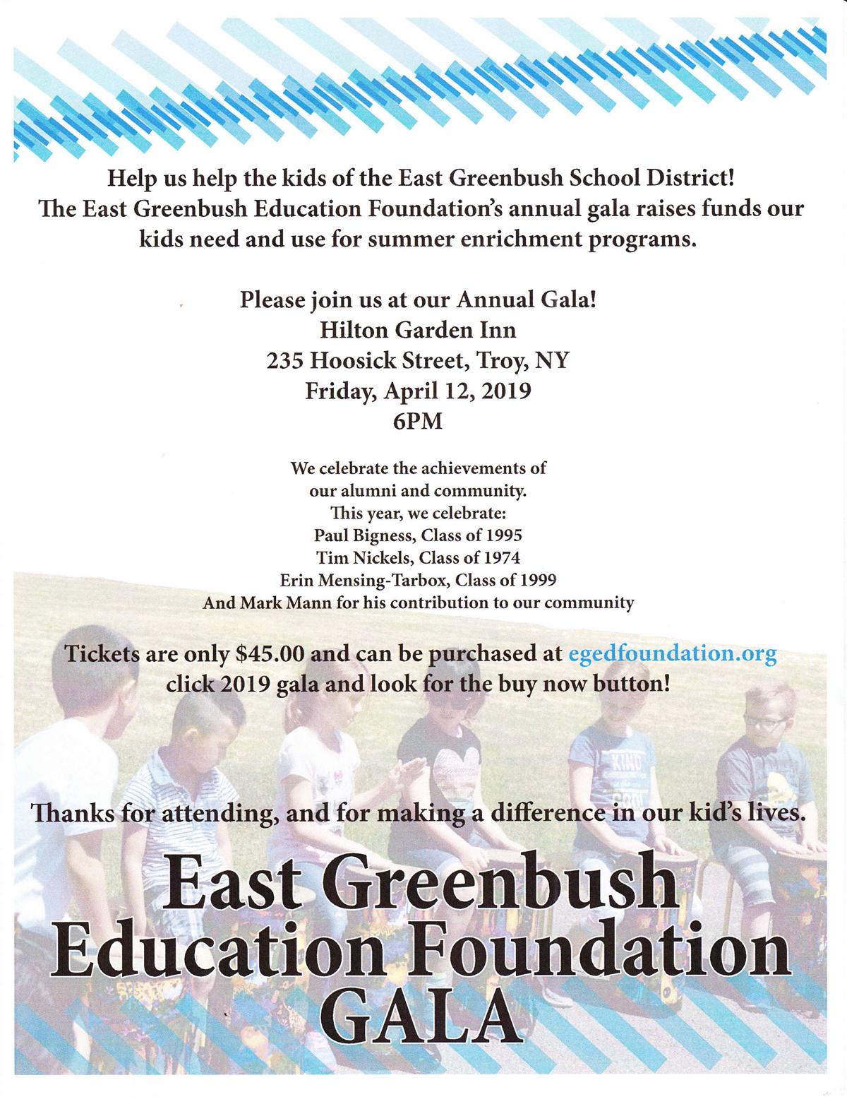 Education Foundation Gala Flyer