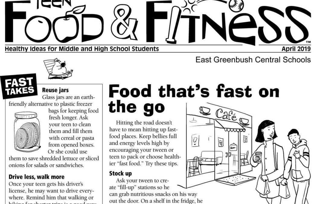 Food & Fitness – April 2019