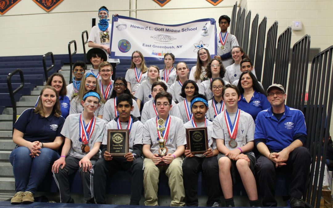Goff Science Olympiad Places 4th at New York State Finals