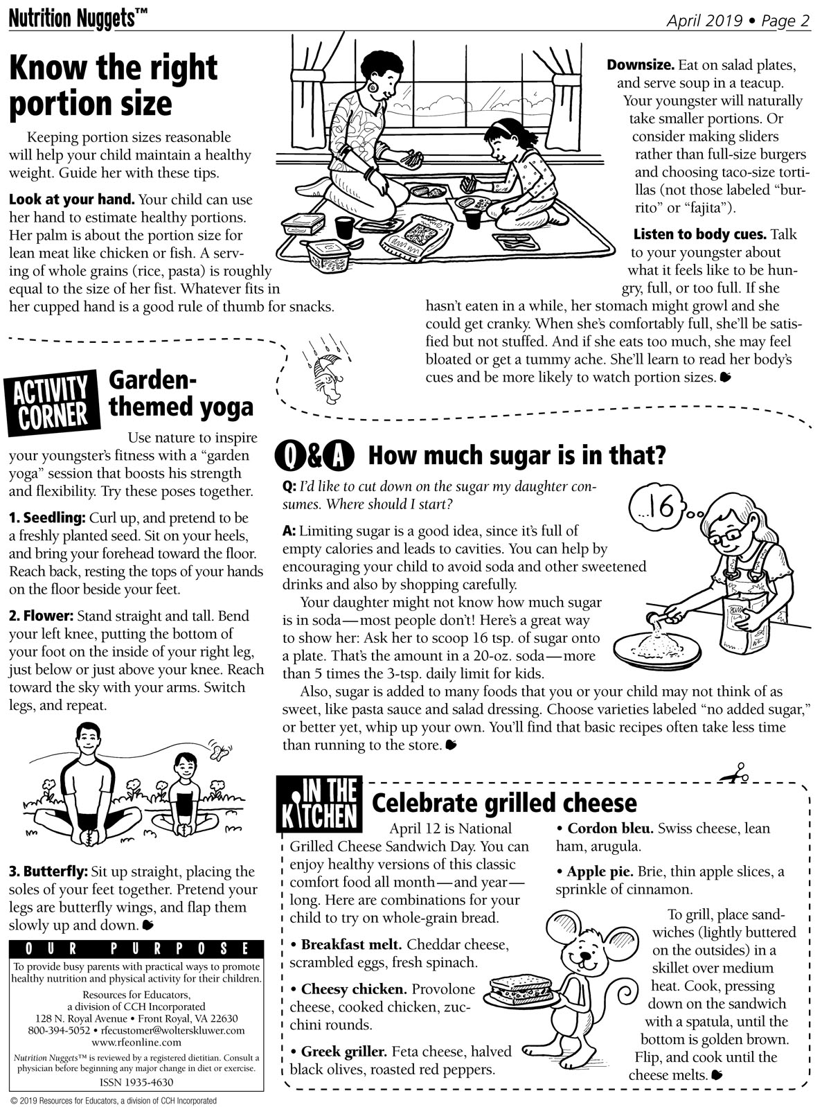Nutrition Nuggets April issue page 2