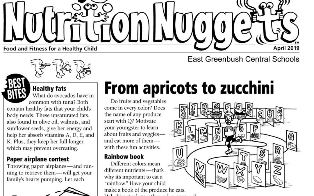 Nutrition Nuggets – April 2019