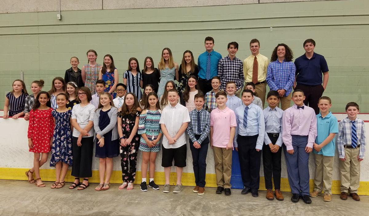 Students at the 2019 Susan Morley PE Leadership Awards