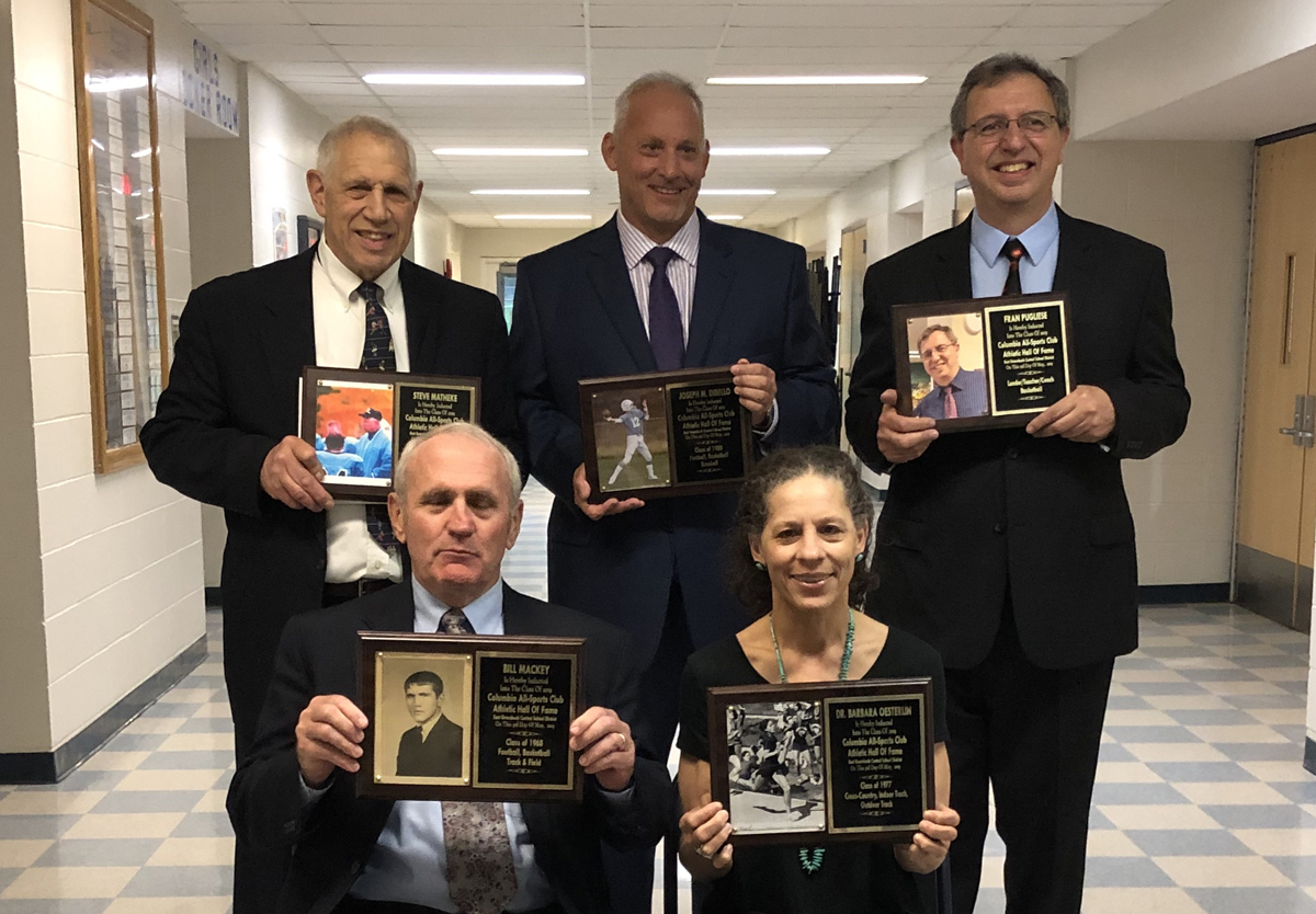 Columbia Athletic Hall of Fame Class of 2019