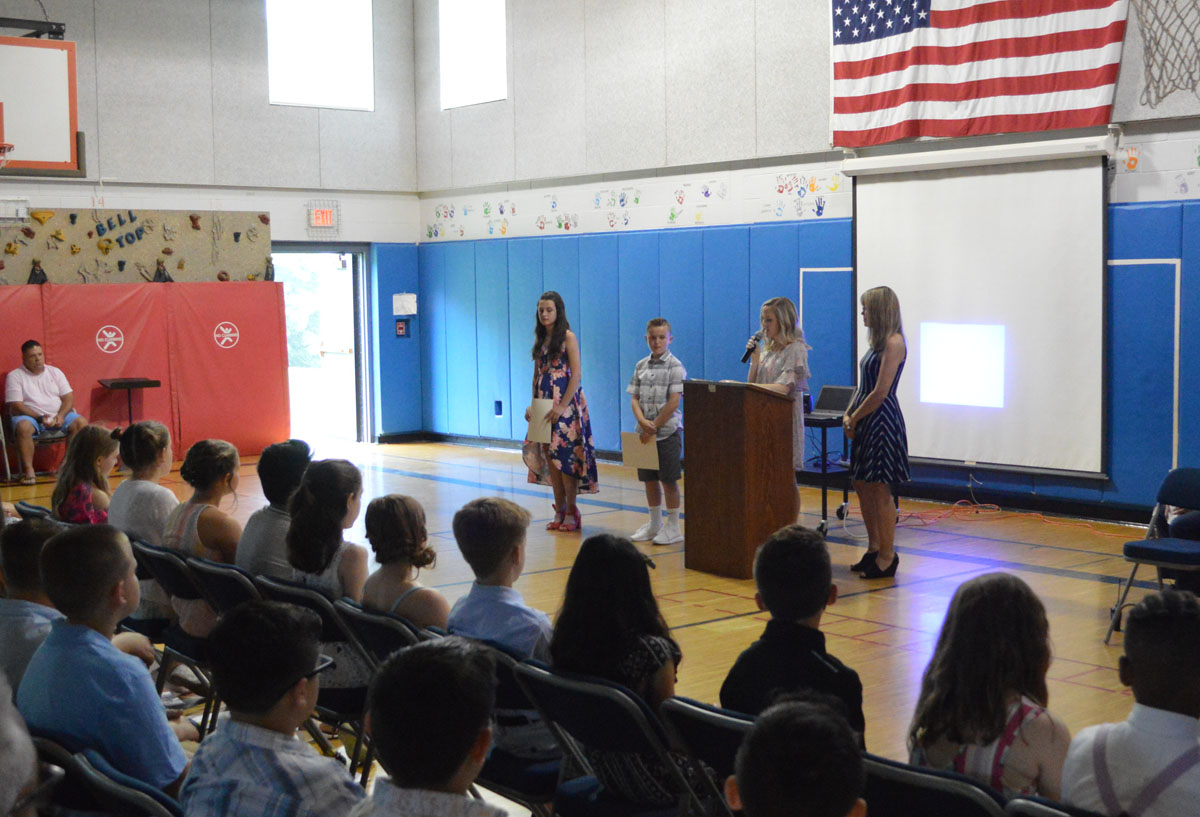 Students receive awards at Moving Up Ceremony