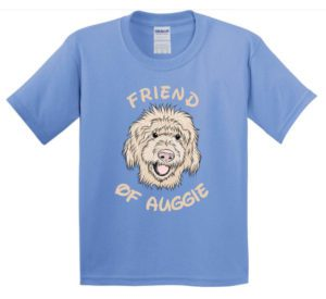 Auggie t-shirt design