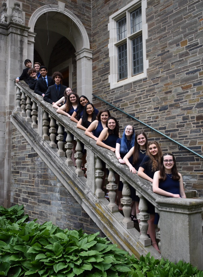 Columbia Science Olympiad team at Cornell University